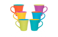 CANECA OXFORD TULIPA COLORIDA 330ML